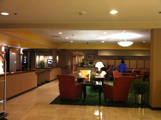 Courtyard by Marriott Memphis Airport: lobby
