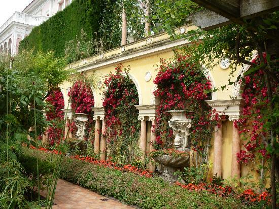 Spanish Garden At Villa Rothschild Picture Of Hotel La