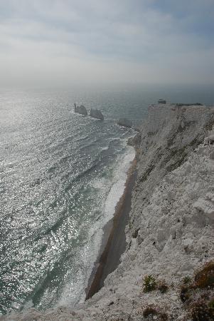 Broadlands Gate: View of The Needles on the Isle of Wight