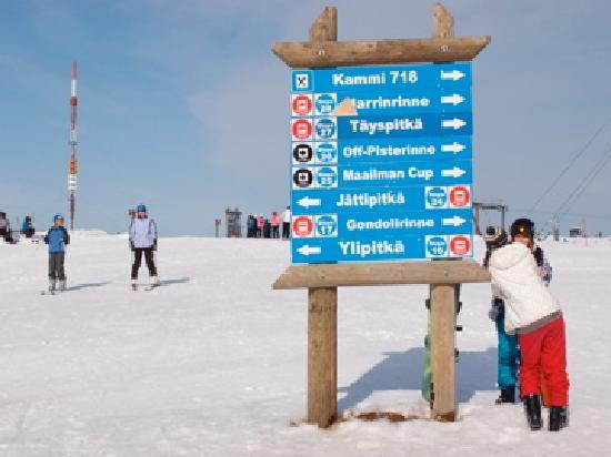 Excellent for skiing - Yllas Ski Resort Pictures