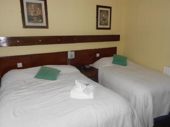Ashley Hotel: spacious and comfortable rooms-just as advertised on hotel's website