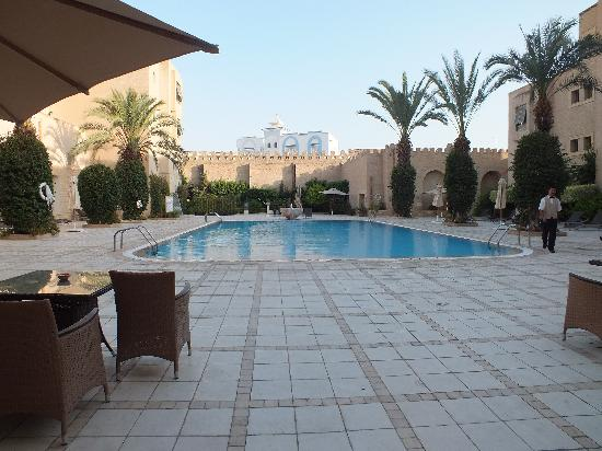 cour int rieur picture of hotel la kasbah kairouan tripadvisor. Black Bedroom Furniture Sets. Home Design Ideas