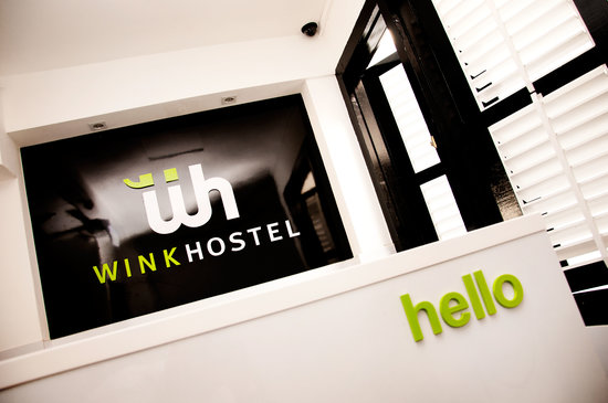 Wink Hostel: Reception
