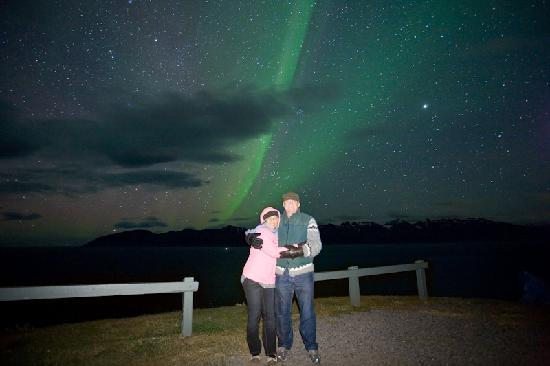 Akureyri, Islande : We are having a great Northern Lights season.