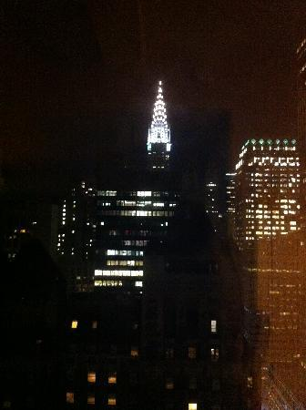 New york marriott east side photo view of chrysler building from