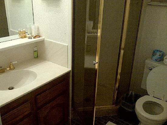 Pacific Heights Inn: Clean bathroom
