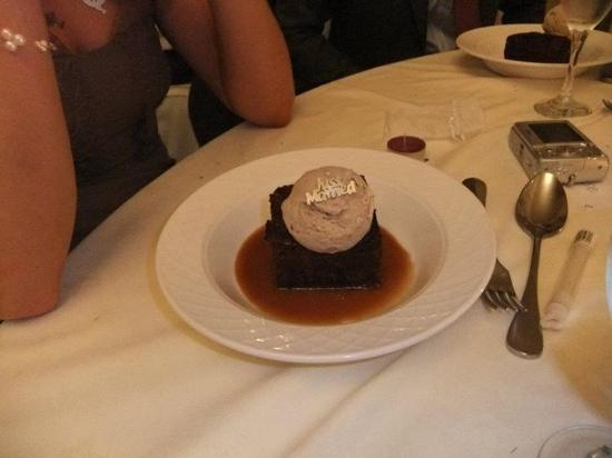 Caistor Hall Hotel: pudding
