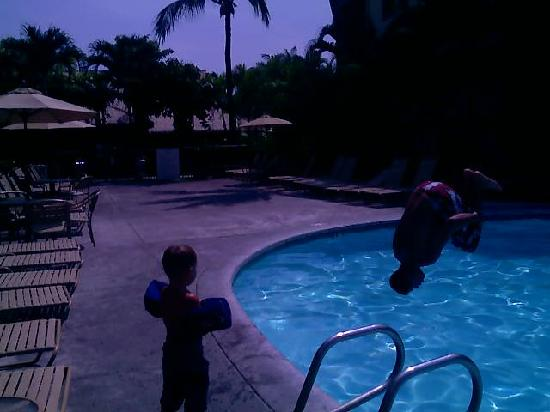 WorldMark, Kona: pool fun