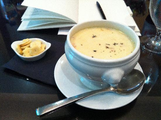 InterContinental Boston: Clam Chowder-y goodness.