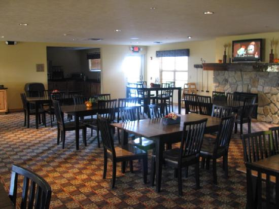 Arbuckle Lodge: Dining area