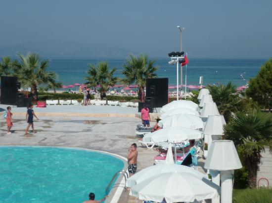 Kusadasi Hotels on The Beach Mersin Beach Club Kusadasi
