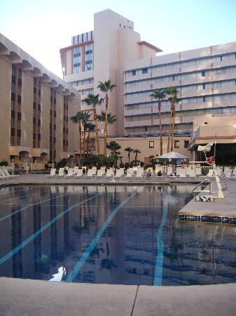 Riviera Hotel & Casino: Part of the pool area