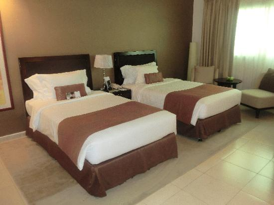 One to One Hotel - The Village: the pillow and bed compliment each other!