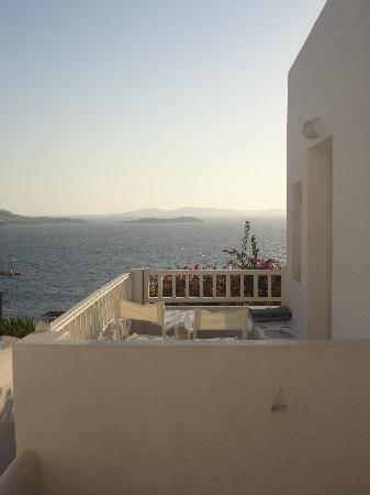 Mykonos View by Semeli Hotel: room with terrace and beautiful sea view