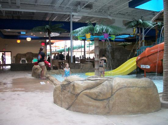 Clarion Hotel Palm Island Indoor Waterpark: Water slide