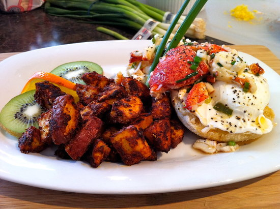 The Chadwick Bed & Breakfast : Lobster Benedict