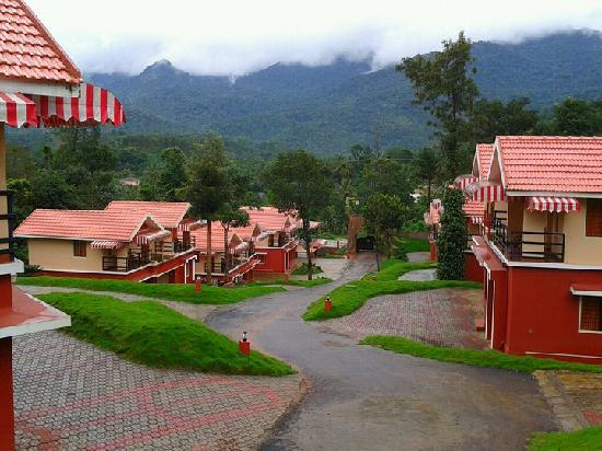 Vythiri, India: View From Deluxe Villas