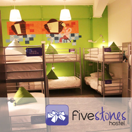 Five Stones Hostel: 10 bed mixed dorm