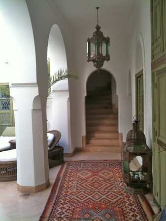 Riad Camilia: Central Courtyard
