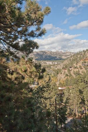 Historic Crags at the Golden Eagle Resort: view from room 201