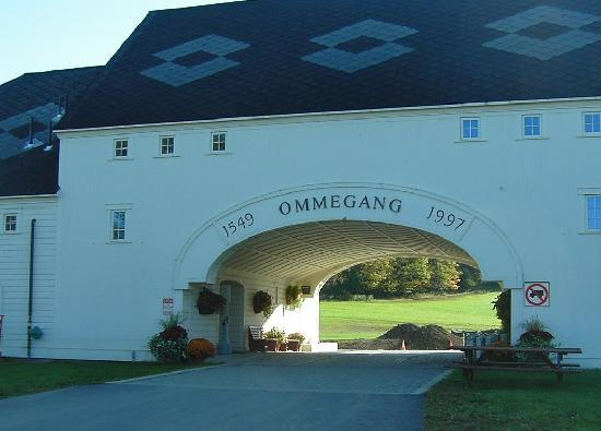 Cooperstown, NY: The famed Ommegang brewery is just a mile south of the Inn