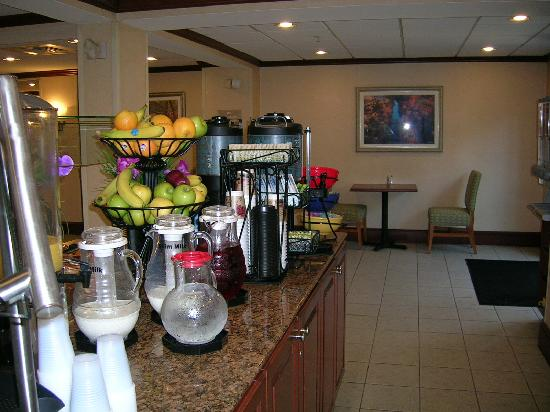 Homewood Suites Newark/Wilmington South: Frühstücksraum