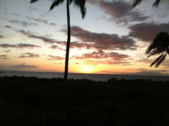 sunset from Dolphins Point Maui