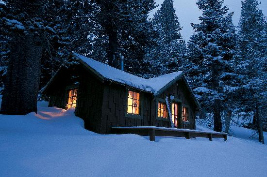 Winter Night At Tamarack Picture Of Tamarack Lodge And
