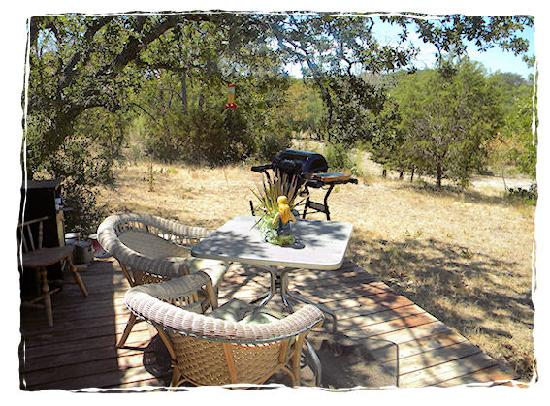 A Comfort Getaway Guesthouse: wonderful sunset views of the Texas Hill Country