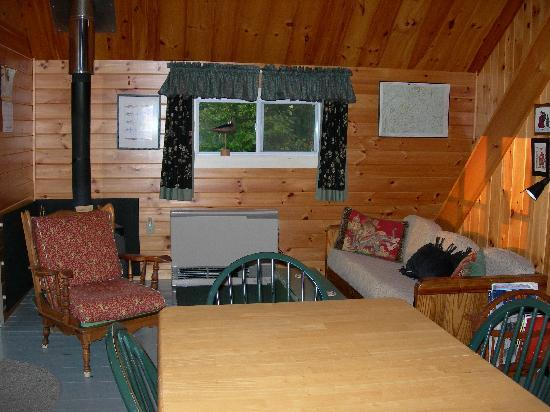 Birch Point Cabins: K2 inside