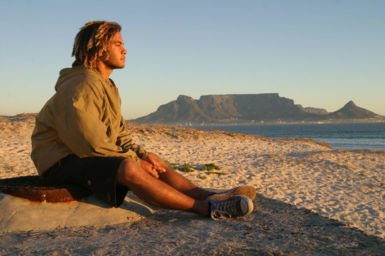 Saltycrax Backpackers / Surflodge: blouberg beach