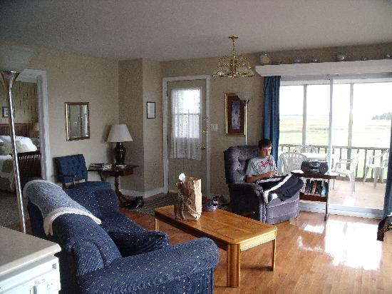 The Birches Housekeeping Cottages: Living Area