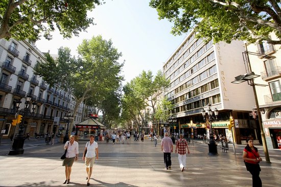 Royal Ramblas Hotel : Welcome to Las Ramblas of Barcelona