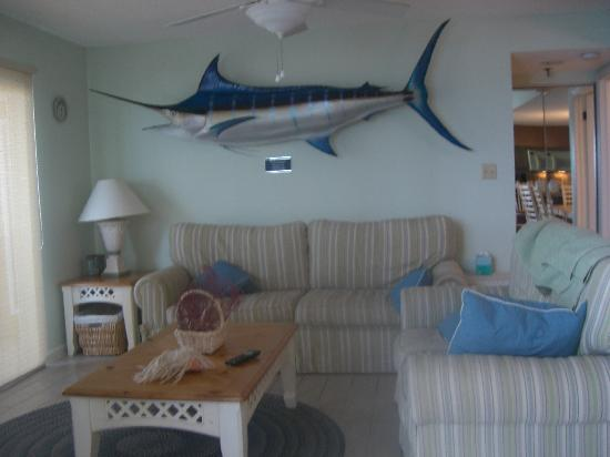 Anglers Cove: Living room