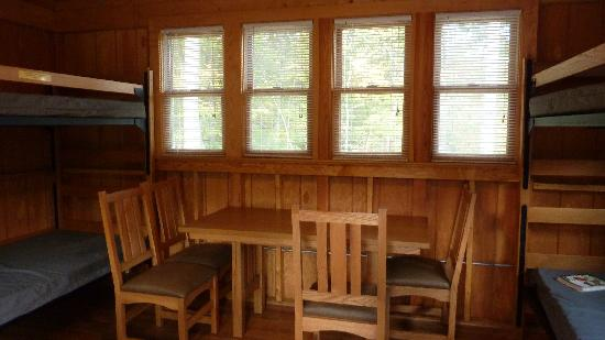 Camping Cabin Interior Picture Of Lake Anna State Park