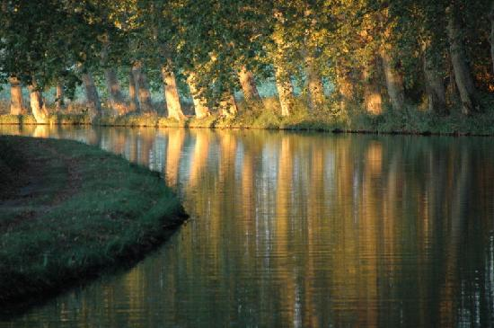 Languedoc-Roussillon, Frankreich: Canal du Midi view