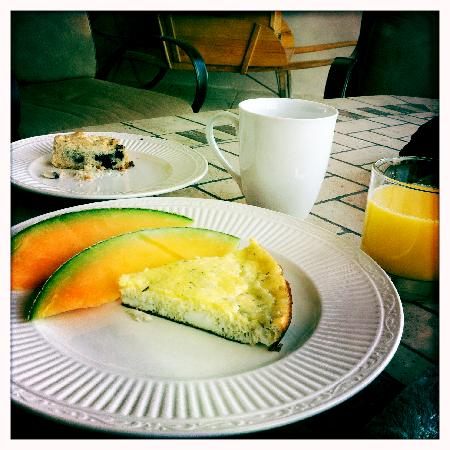 Belvino Viaggio: Delicious breakfast