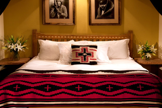Anasazi Beddings at the Lodge at Santa Fe.