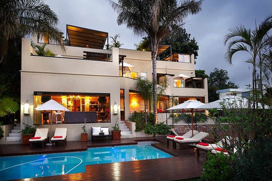 The residence boutique hotel johannesburg south africa for Boutique hotel vacations
