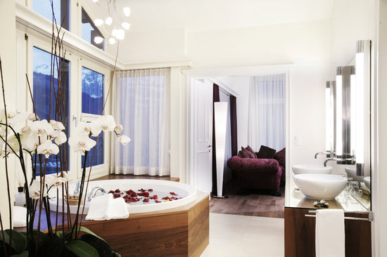 Lenkerhof gourmet spa resort: Bad Alpine Spa Suite