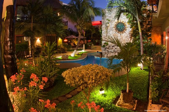 Hotel Aventura Mexicana: Family Pool