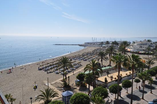 Mediterraneo Marbella: View from the balcony