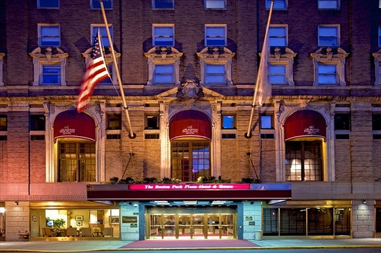 The Boston Park Plaza Hotel &amp; Towers : The Grand Entrance 