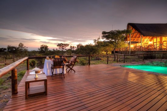 Jamila Game Lodge Sunset