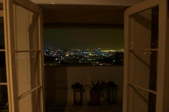 Hotel Santa Teresa - Relais & Chateaux: View of the city from our romantic getaway