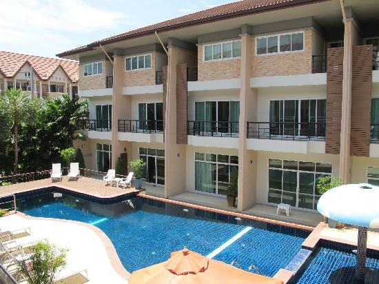The Beach Boutique House: view from balcony!