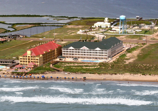 Hilton Garden Inn South Padre Island: Aerial View of the Hotel