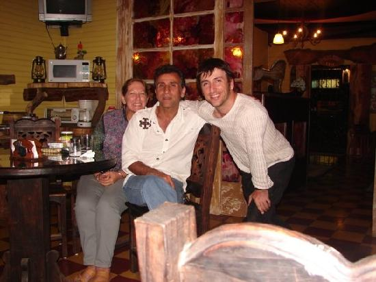 Hotel Casa Antigua: this is the two friendly owners of the hotel