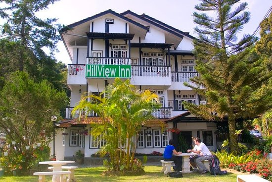 Tanah Rata, Maleisië: Front of the hotel