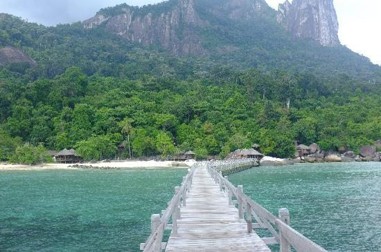 Bagus Place Retreat: The view from the jetty
